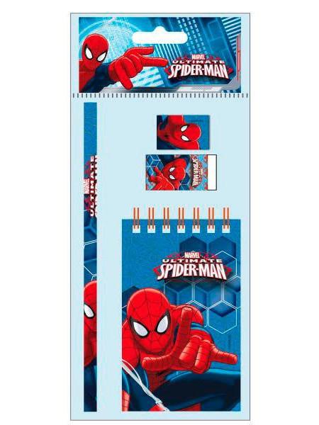 spiderman tekenset