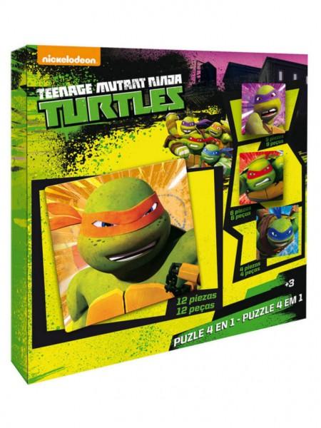 ninja turtles puzzelset