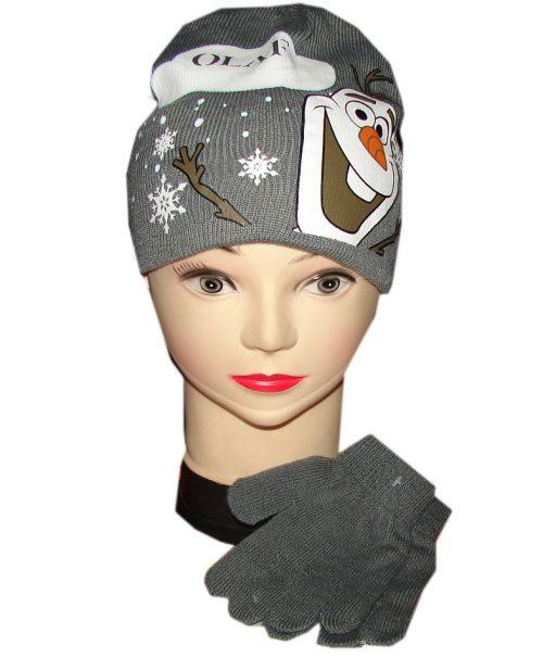 frozen olaf muts en handschoenen