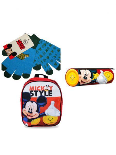kadoset Mickey mouse 3-delig
