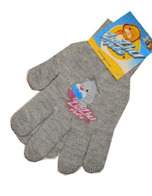 zhu zhu pets handschoenen grijs