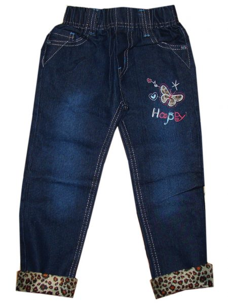 jeans happy vlinder