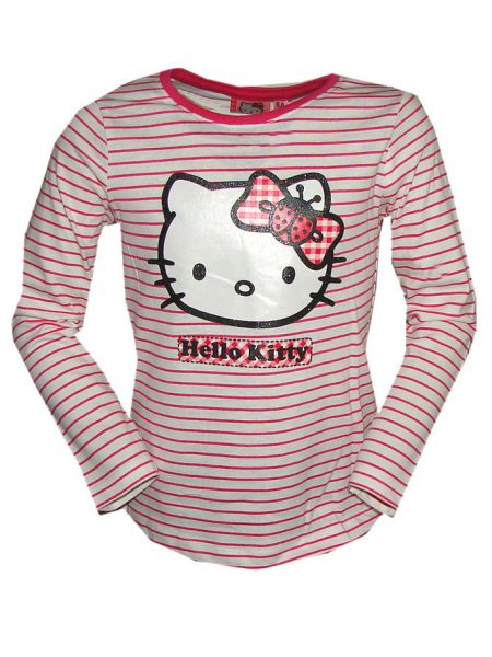 hello Kitty shirt streep