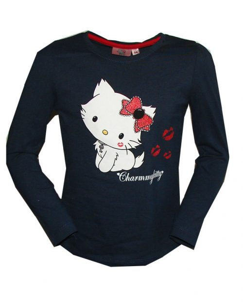 charmmy Kitty shirt blauw