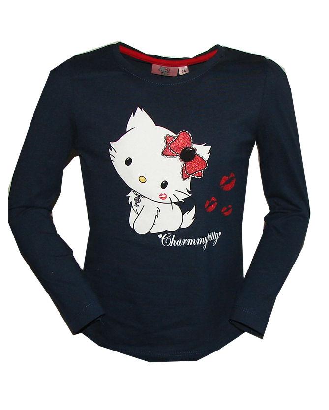 charmmy Kitty shirt blauw