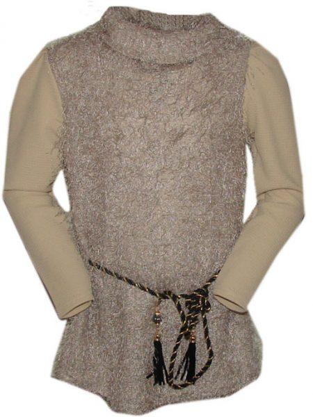tuniek fluffy met riem