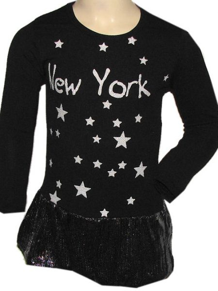 jurk new york glitter