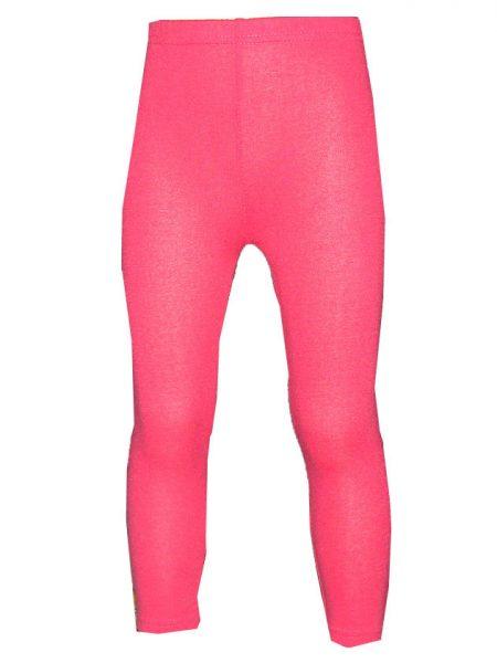 wollige legging roze