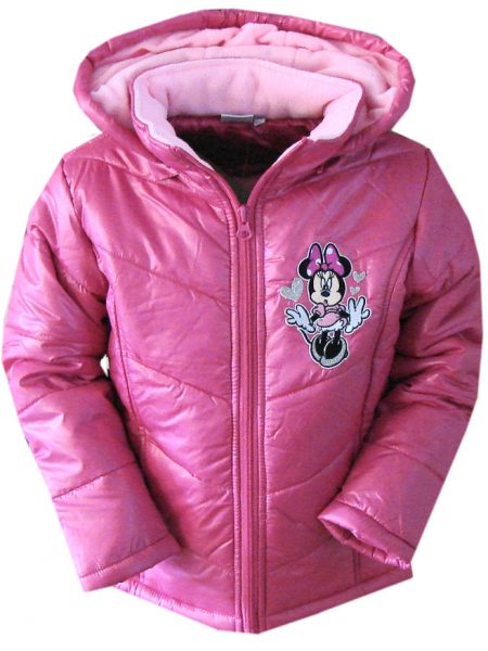 minnie mouse winterjas roze