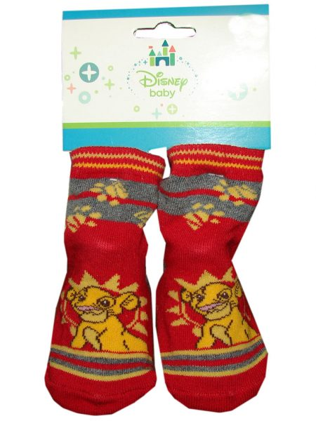 lion king baby sokjes rood