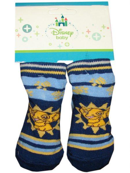 lion king baby sokjes blauw streep
