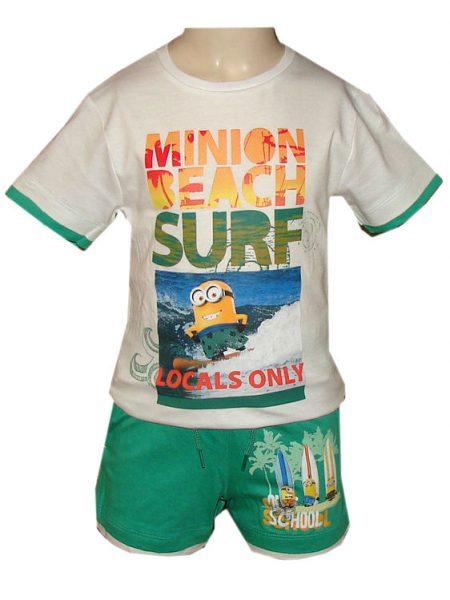 minions korte broek met shirt beach surf