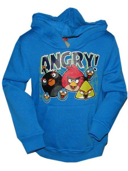 angry birds sweater met capuchon blauw