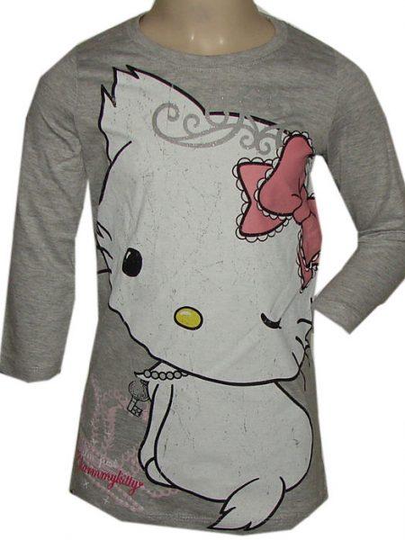 hello Kitty big shirt grijs
