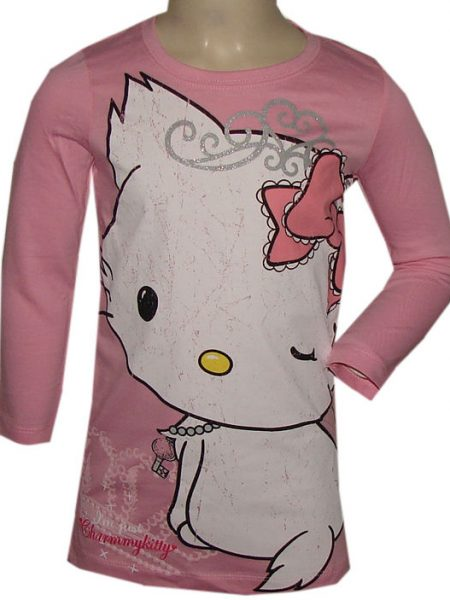 hello Kitty big shirt roze