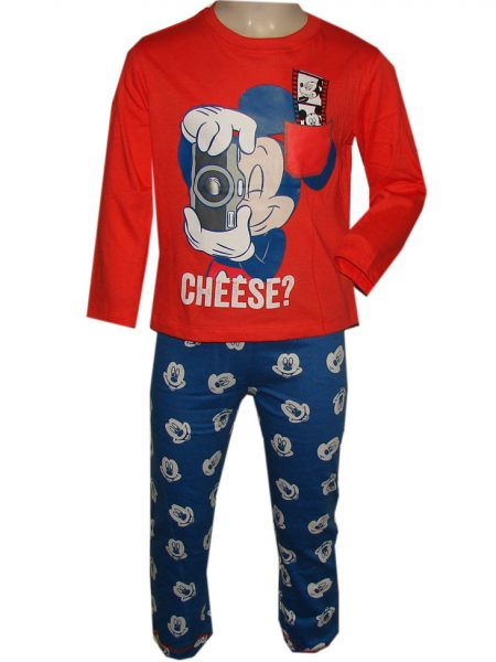 Mickey mouse pyjama cheese