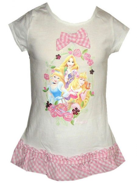 Disney princess shirt wit
