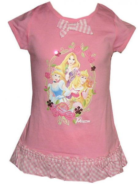 Disney princess shirt roze