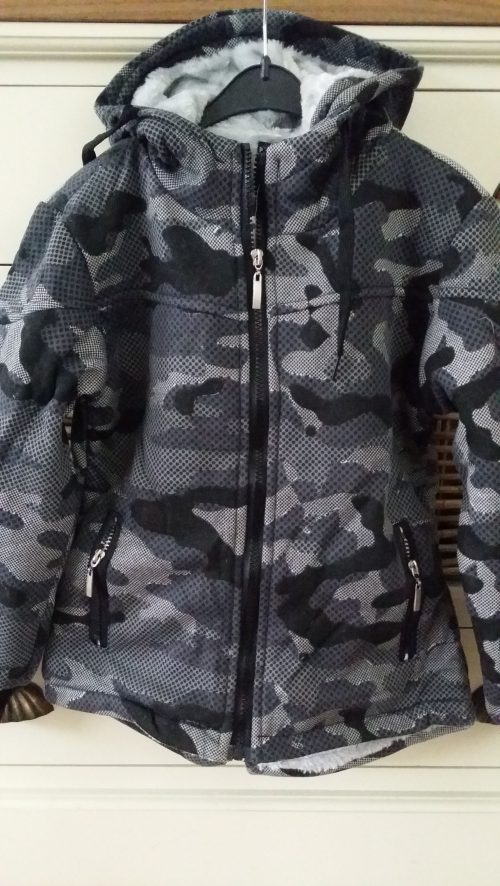army vest/jas donkergrijs