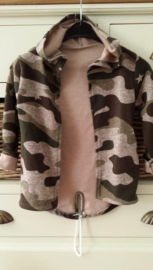 camouflage vest roze