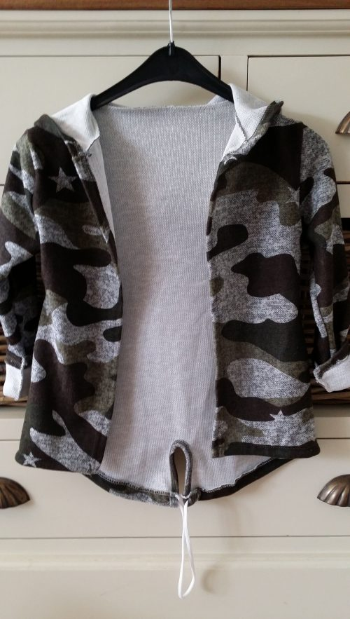 camouflage vest grijs unisex