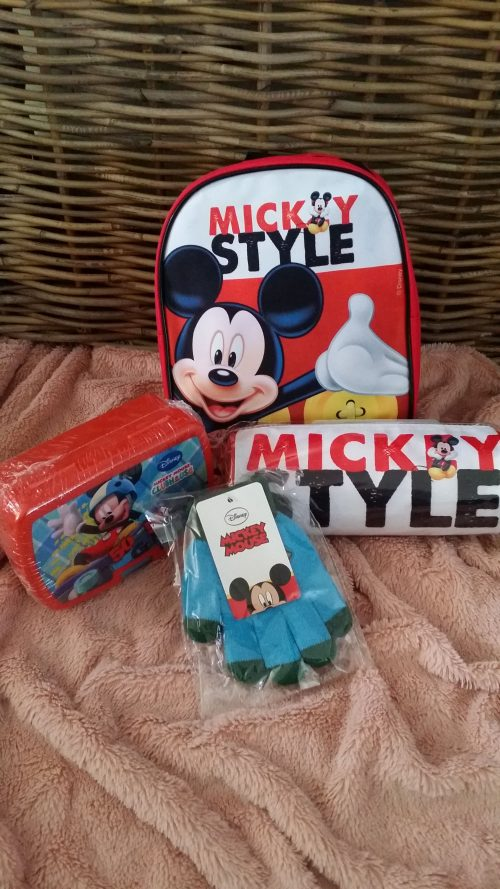 mickey mouse 4 delige set
