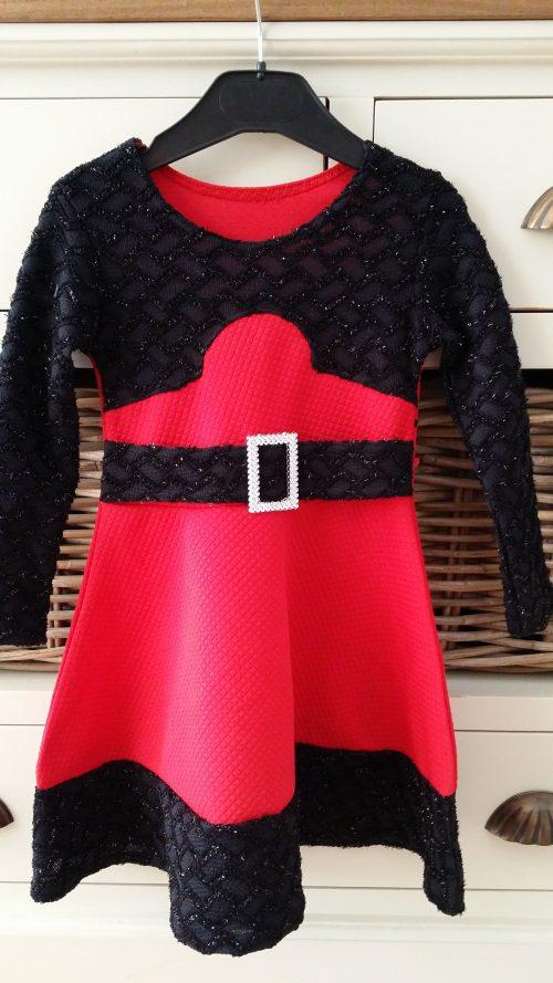 jurk chic rood