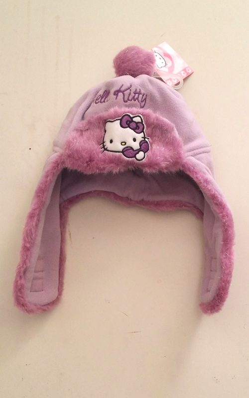 muts lila hello kitty