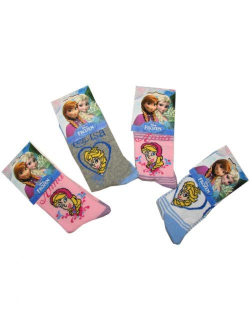 frozen sokken anna en elsa 4 paar (1,25 per paar)
