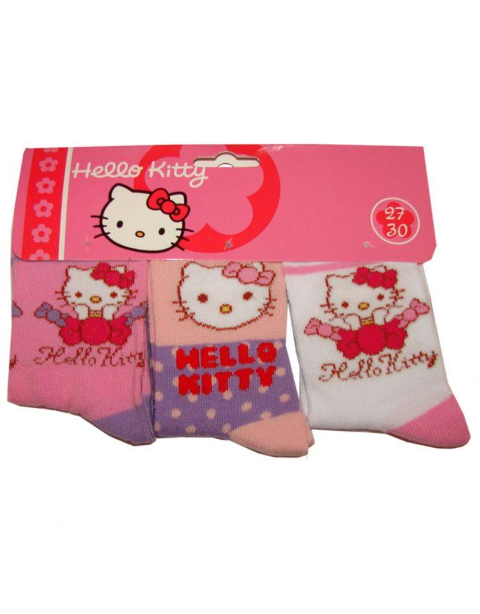 hello kitty sokken 3 paar (1,25 per paar)
