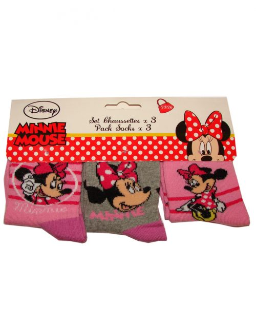 minnie mouse sokken 3 paar (1,25 per paar)