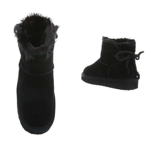 boots black leer