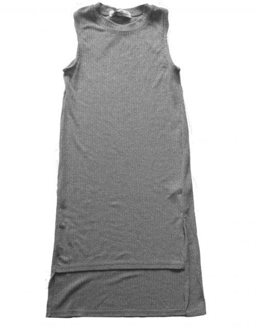 maxi dress grey