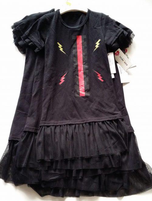 jurk zwart met tule
