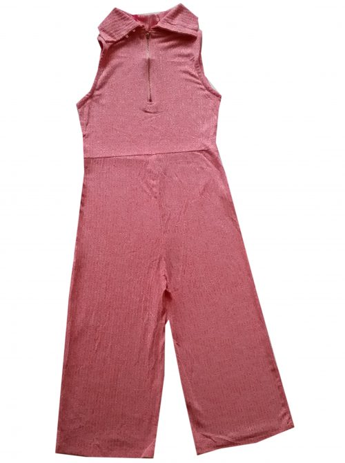flair jumpsuit coral