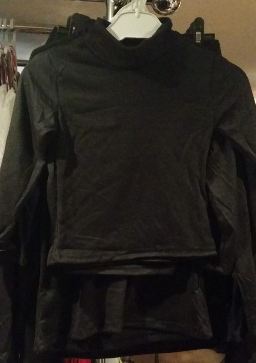 uni shirt zwart Uni shirt in zwart Kan voor jongens en meisjes - GRATIS VERZENDING - BETAAL VEILIG MET IDEAL - OPHALEN MOGELIJK art.nr.ms1508