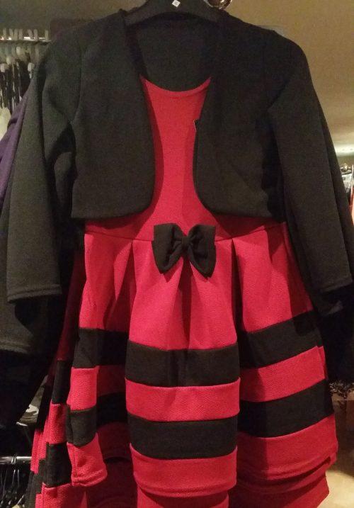 dubbellook jurk Prachtig dubbellook jurkje met strik voorop - GRATIS VERZENDING - BETAAL VEILIG MET IDEAL - OPHALEN MOGELIJK nr.zv11112