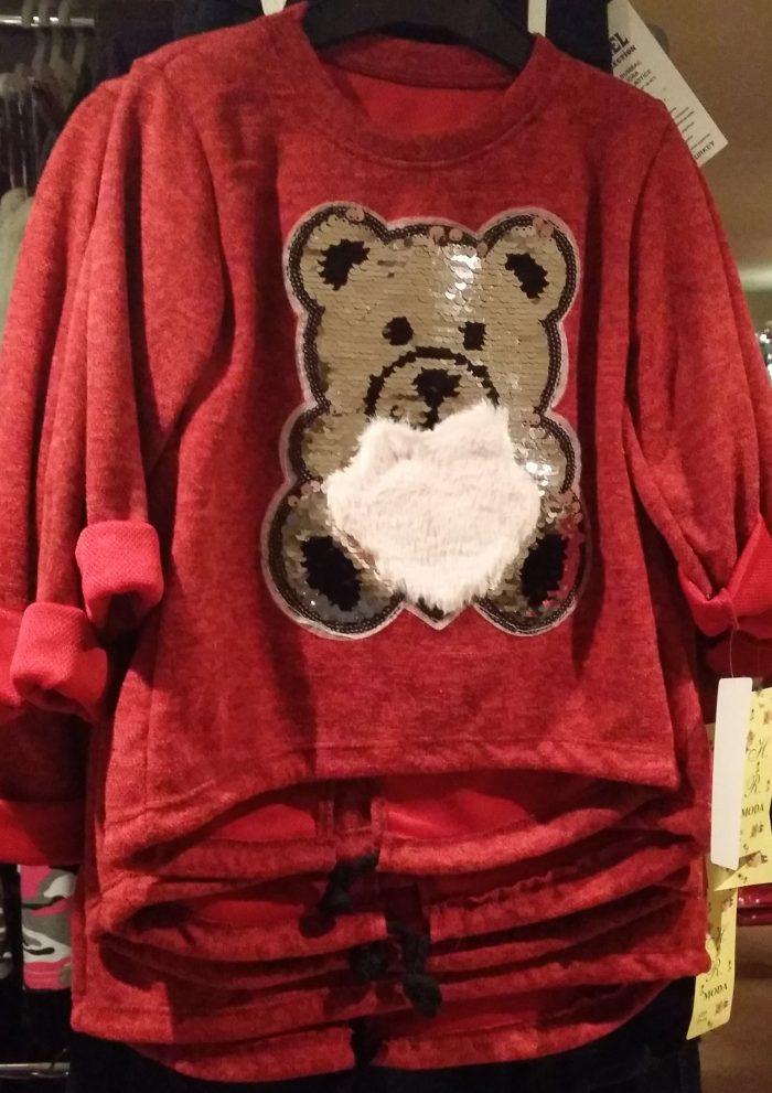 sweater beer pailletten bordeaux Hippe trui met applicatie van pailletten - GRATIS VERZENDING - BETAAL VEILIG MET IDEAL - OPHALEN MOGELIJK art.nr.ms1963