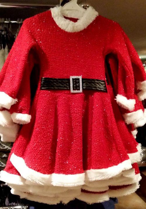 jurk glitter rood Mooi jurkje in rood met witte bontrand - BETAAL VEILIG MET IDEAL - OPHALEN MOGELIJK