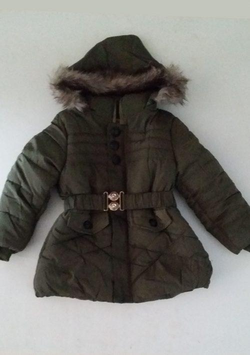 winterjas army green met afritsbare capuchon Hele mooie dikke jas in camouflage groen, afneembare capuchon De binnenkant is helemaal gevoerd met imitatie bont  - BETAAL VEILIG MET IDEAL - OPHALEN MOGELIJK artikelnummer mjs1003