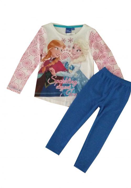 wollige legging met frozen shirt wollige legging gecombineerd met een Disney Frozen shirt Het shirt staat ook leuk op een spijkerbroek Extra voordelige combinatie Ophalen mogelijk nr.mks1000