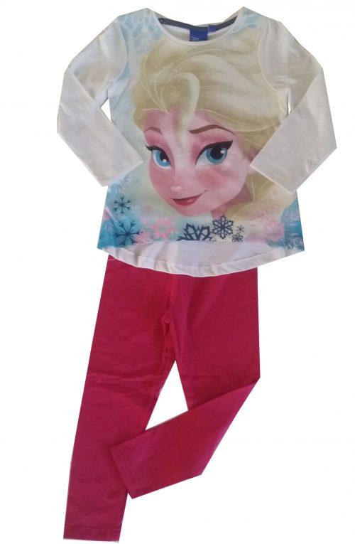 fuchsia legging met frozen shirt Mooie kwaliteit legging gecombineerd met een Disney Frozen shirt Het shirt staat ook leuk op een spijkerbroek Extra voordelige combinatie Ophalen mogelijk nr.mks1018