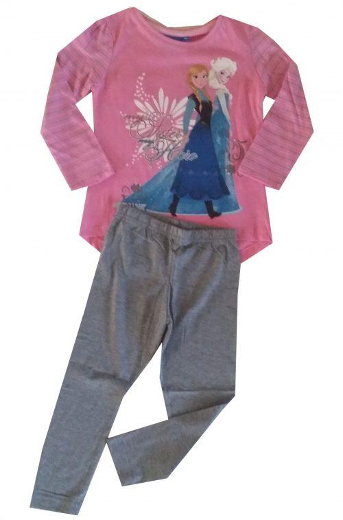 grijze legging met frozen shirt Mooie kwaliteit legging gecombineerd met een Disney Frozen shirt Het shirt staat ook leuk op een spijkerbroek Extra voordelige combinatie Ophalen mogelijk nr.mks1020