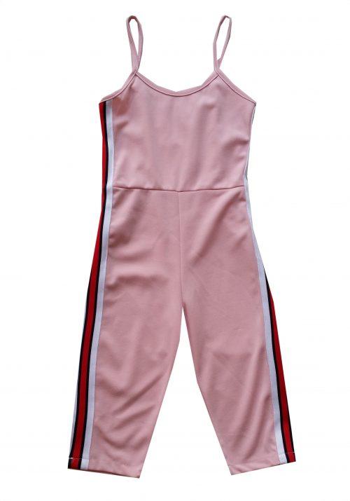 jumpsuit rozeb Mooie kwaliteit jumpsuit in roze  Aan de zijkanten trendy strepen  Ophalen mogelijk nr.mks1426