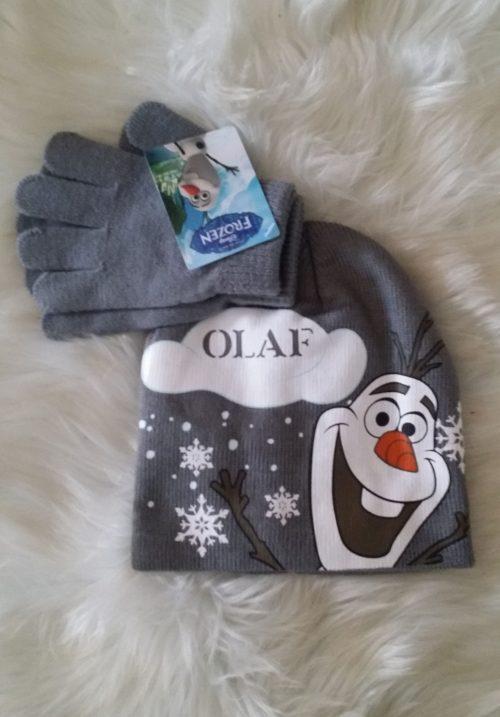 frozen olaf muts en handschoenen Leuke muts van Frozen Olaf met handschoenen